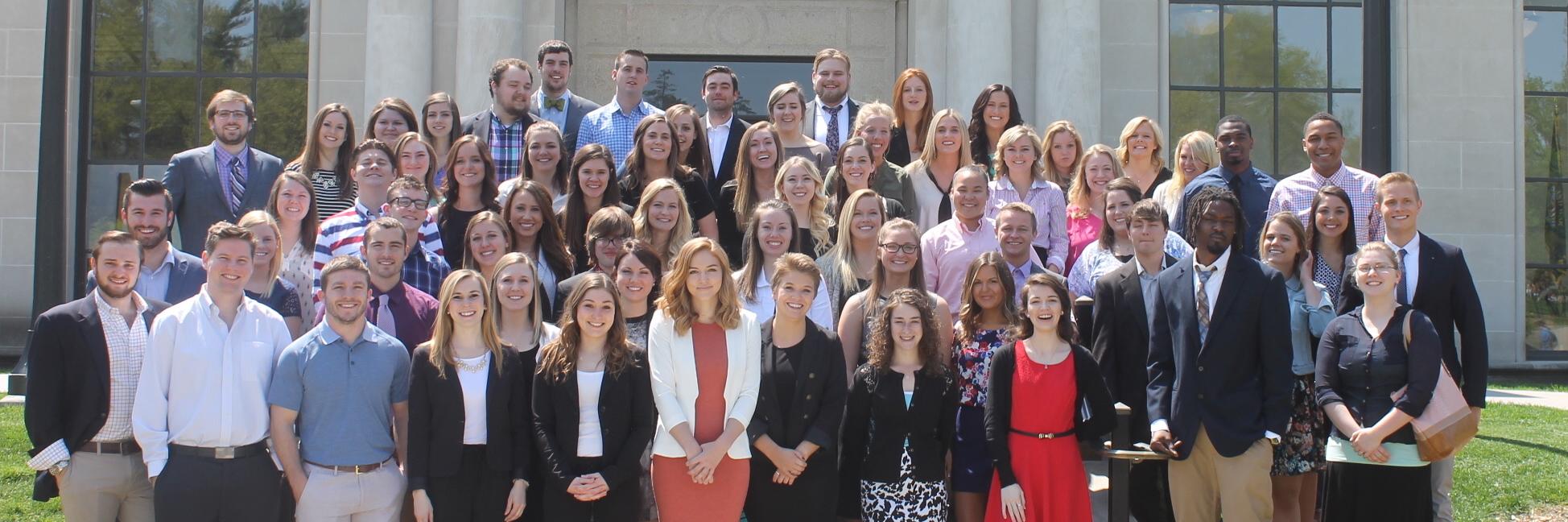 Communication Studies Graduates group photo